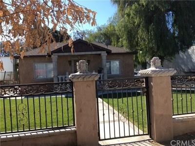 Fontana Multi Family Home For Sale: 14875 Washington Drive