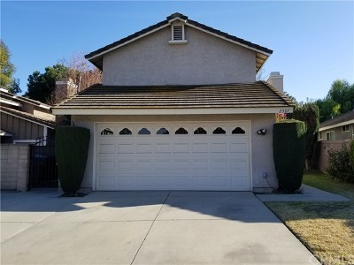 Chino Hills Single Family Home For Sale: 2597 Stagecoach Trail