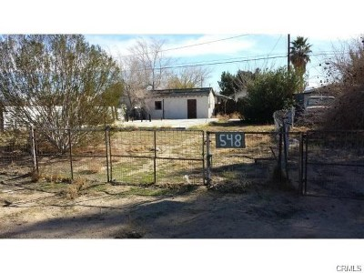 Barstow Residential Lots & Land For Sale: 548 Gleason Street