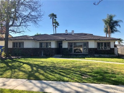 Azusa Single Family Home For Sale: 139 S Orange Avenue