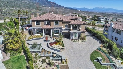 Rancho Cucamonga CA Single Family Home For Sale: $3,500,000