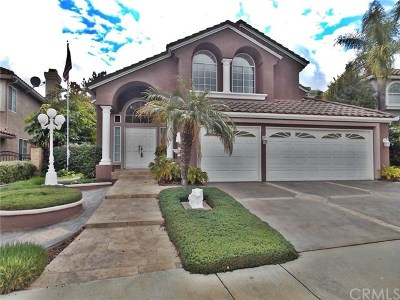 Chino Hills Single Family Home For Sale: 15037 Calle Verano