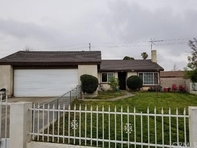 Fontana Single Family Home For Sale: 7445 Palm Ln