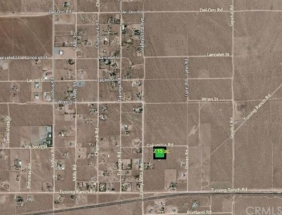 Apple Valley Residential Lots & Land For Sale: Via Seco