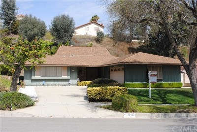Diamond Bar CA Single Family Home For Sale: $760,888