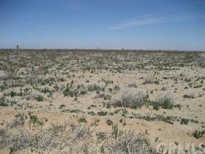 San Bernardino County Residential Lots & Land For Sale: 1 Fossil Bed Rd Frontage