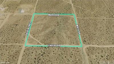 Phelan Residential Lots & Land For Sale: Pueblo Trail Road