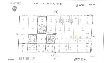 Adelanto Residential Lots & Land For Sale: Coronado Avenue