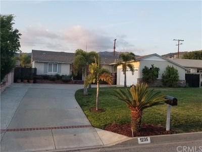 Glendora Single Family Home For Sale: 1235 E Mountain View Avenue