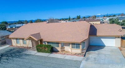 Hesperia Single Family Home For Sale: 7636 Peach Avenue
