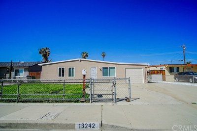 Chino Single Family Home For Sale: 13242 18th Street