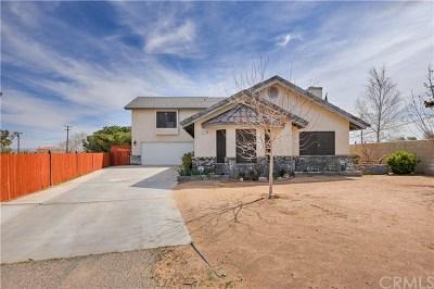 California City Single Family Home For Sale: 21510 Walker Court