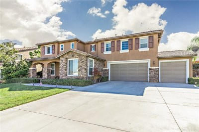 Corona Single Family Home For Sale: 2105 Eureka Street