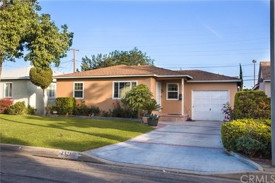 Downey Single Family Home For Sale: 8521 Rives Ave