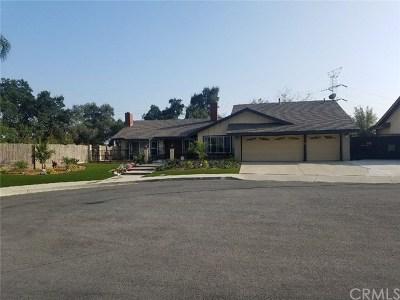 San Dimas Single Family Home For Sale: 118 Marshall Court