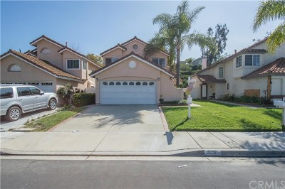 Chino Hills Single Family Home For Sale: 3113 Oaktrail Road