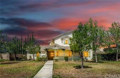Rancho Cucamonga Single Family Home For Sale: 12878 Wild Horse Way