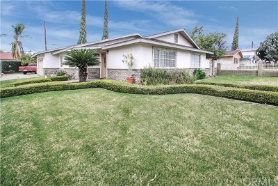 Rancho Cucamonga Single Family Home Active Under Contract: 7840 Archibald Avenue