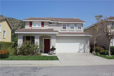Azusa Single Family Home For Sale: 1768 Canyon Vista Drive