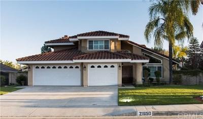Walnut Single Family Home For Sale: 21650 Brookside
