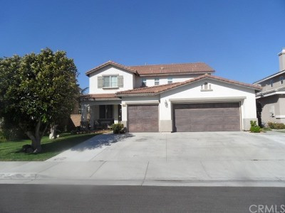 Eastvale Single Family Home For Sale: 6313 Cosmos Street