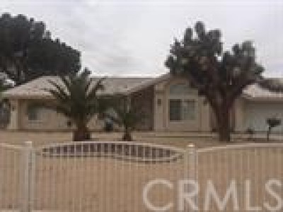 Apple Valley Single Family Home For Sale: 14484 Tawya Road