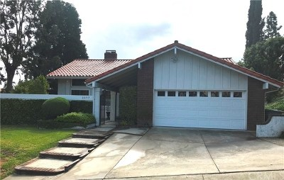 Chino Hills Single Family Home For Sale: 2577 Turquoise Circle