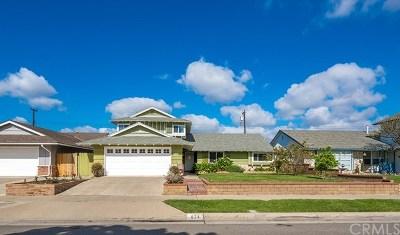 Orange Single Family Home For Sale: 824 N Elmwood Street