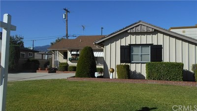 Covina Single Family Home For Sale: 527 W Gragmont Street W