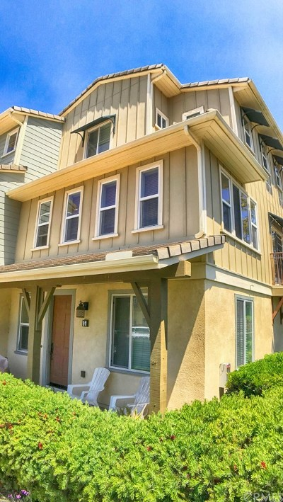 Oceanside Condo/Townhouse For Sale: 4369 Pacifica Way #5