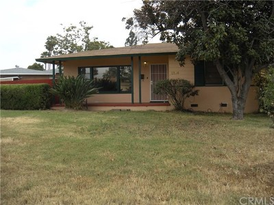 West Covina Single Family Home For Sale: 2124 E Mardina Street