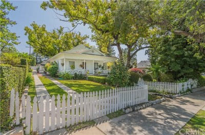 Glendora Single Family Home For Sale: 546 N Wabash Avenue