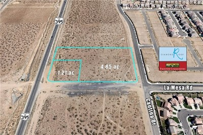 Victorville Residential Lots & Land For Sale: Highway 395