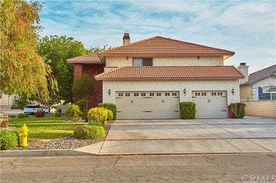 Victorville Single Family Home For Sale: 13405 Anchor Drive