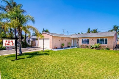 Rancho Cucamonga Single Family Home Active Under Contract: 8614 Comet Street