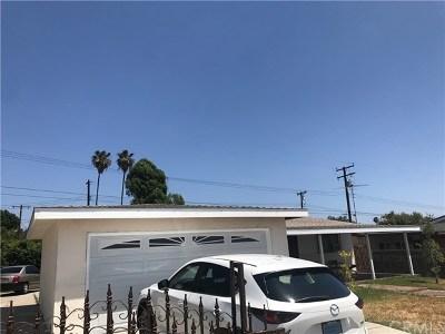 La Puente Single Family Home For Sale: 316 S Shipman Avenue