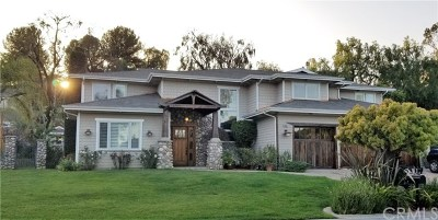 Chino Hills Single Family Home For Sale: 16162 Eastridge Court