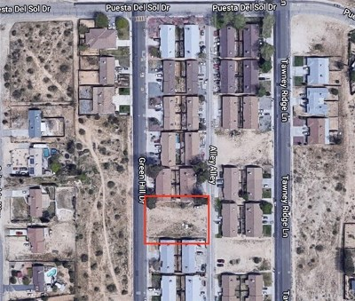Victorville Residential Lots & Land For Sale: Greenhill Drive