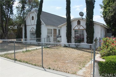 Pomona Multi Family Home For Sale: 1324 W 2nd Street