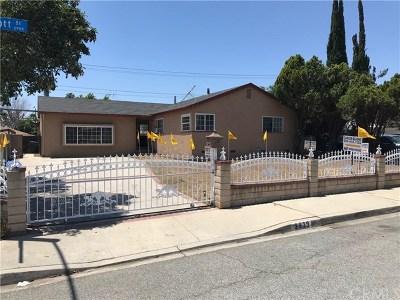 Pomona Single Family Home For Sale: 2939 Abbott Street