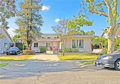 San Dimas Single Family Home For Sale: 341 W 1st Street