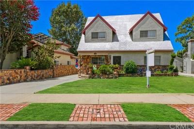 San Gabriel Single Family Home For Sale: 167 N Bridge Street N