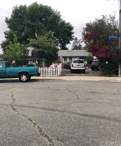 Pomona Single Family Home For Sale: 1599 Claremont Place