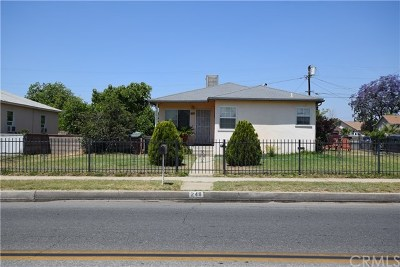 Rialto Single Family Home For Sale: 248 N Willow Avenue