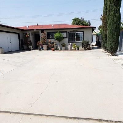San Bernardino Single Family Home For Sale: 1912 W 15th Street