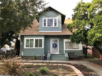 Upland Multi Family Home For Sale: 91 W 9th Street