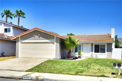 Chino Single Family Home Active Under Contract: 4469 Heather Circle
