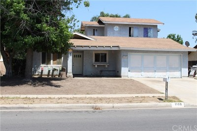 Redlands Single Family Home For Sale: 1108 N Lincoln Street