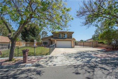 Chino Hills Single Family Home For Sale: 3441 Valle Vista Drive