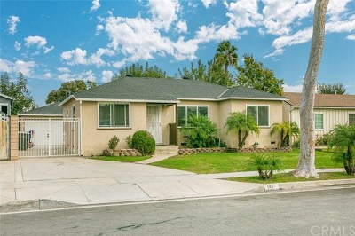 La Habra Single Family Home For Sale: 140 N Marian Street